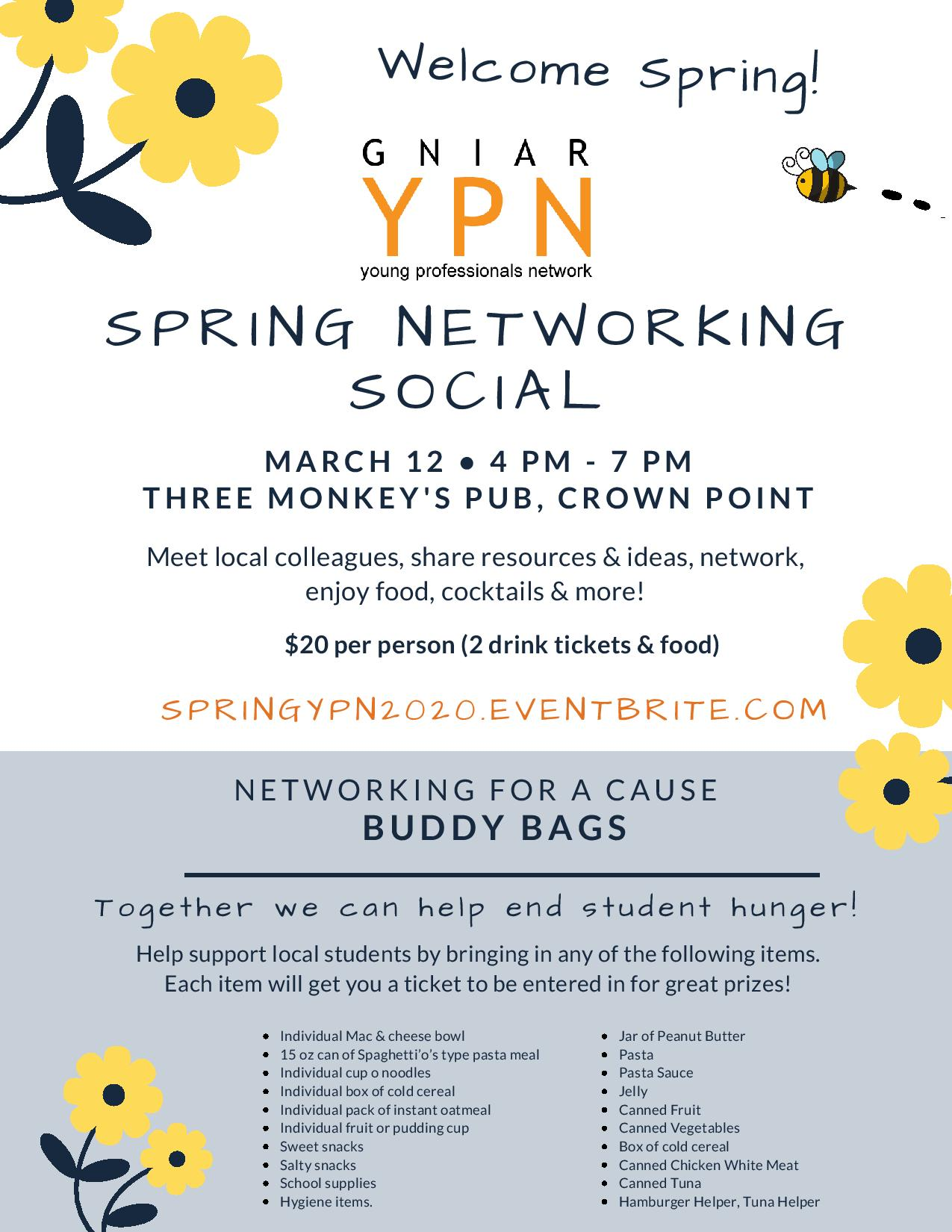 YPN Spring Networking Flyer 2020 page 001